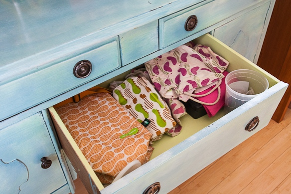 Lunch Bag Drawer